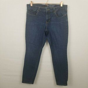 GAP Factory Size 14/32 Denim Jeans Skimmer Cropped